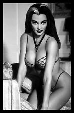 Lily Munster FRIDGE MAGNET Sexy Vamp 6x8 Magnetic Poster Canvas Print
