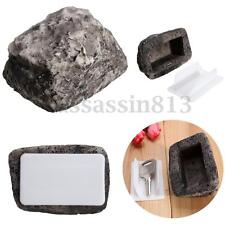 Outdoor Spare House Safe Hidden Hide Security Rock Stone Case Box For Key Hide