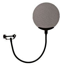 New Studio Metal Microphone Wind Screen Pop Filter Mask Shield for Recording