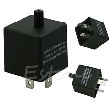 New CARCHET Electronic LED Flasher Relay for Car Turn Signal Light Adjustable