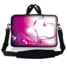 "10"" 9 Tablet Netbook Sleeve Bag Case Pouch Shoulder Strap iPad Kindle Galaxy S08"
