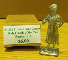 60mm Private Csar's Convoy Body Guards of the Csar Russia 1914 54-301 ***