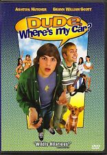 Dude, Where's My Car? (DVD, 2001) With Scene Selection Card Included