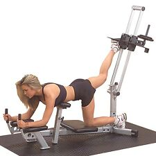 Body Solid Powerline GLUTE MACHINE Gym Leg Exercise Ham Weight Workout PGM200X