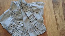 muse * independent wear * Bolero Jäckchen * Festlich Party * Khaki Grau  Gr S