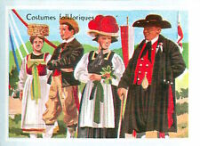 IMAGE CARD 60s Germany  COSTUMES TYPE Folklore