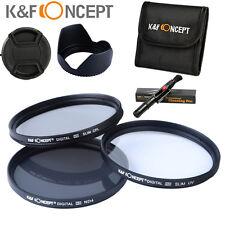 58mm Slim UV CPL ND4 Lens Filter Kit For Canon EOS 550D 650D 450D 350D 18-55 SLR