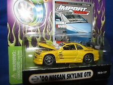 2000 SKYLINE GT-R  muscle machine Import tuner NISSAN RACING fast 1/64 yellow
