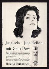 3w2313/ Alte Reklame von 1960 - Helena Rubinstein SKIN DEW