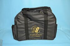"Tropicana Casino & Hotel  "" Slot Quest "" New Black Overnight Bag  !!"