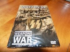 WEAPONS OF WAR WAFFEN SS History Panzers WWII Nazi Army Germany Soldiers DVD NEW