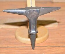 Rare antique silversmith watchmaker jeweler anvil blacksmith collectible tool