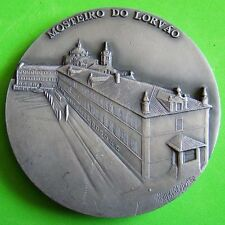 Religious Monument / Monastery of Lorvão / BIG Tin Medal by BERARDO! #138 M.17a