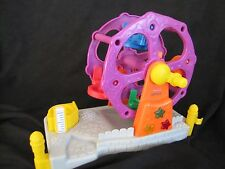 Fisher Price Little People CARNIVAL CIRCUS FERRIS WHEEL w/ SOUNDS & LIGHTS Fun!