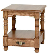 #8861 Solid Oak Country Trend End Table