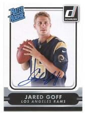 Jared Goff 2016 Panini Donruss Rookie Personal Edition Auto Signed Autograph SSP