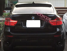 Painted BMW 07-14 E71 X6 Performance type trunk spoiler color:668 Black ◎