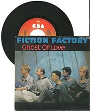 "Fiction Factory, Ghost of love, G-/VG  7"" Single 999-589"
