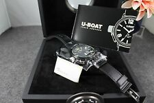 NEW U-Boat Classico AB Black Ceramic Case Automatic MSRP 3600.00