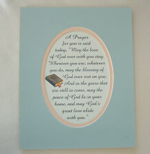 A Christian PRAYER Love of GOD Stay BLESSING Peace HOME verses poems plaques