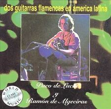 PACO DE LUCÍA - Dos Guitarras Flamencas En America... CD ** Like New / Mint **