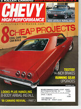 CHEVY HIGH PERFORMANCE December 2005 - 8 Cheap Projects