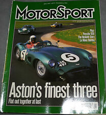 Motor Sport June 1997 Porsche 959, 911 turbo Ferrari 348 Hesketh Mouton