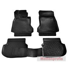 3D TPE Gummimatten Gummifußmatten für BMW 5er F10 Limousine ab Bj. 2010 - 2013