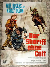 SHERIFF OHNE COLT /Boy from Oklahoma * A1-FILMPOSTER EA - 1964 GOETZE