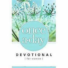 Once-A-Day Devotional for Women, Paperback