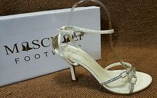 Ladies Shoes Mischief Size 8 Wedding/Formal/Bridesmaid Heels Strappy Sandals New
