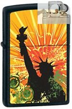Zippo 24822 statue of liberty Lighter with PIPE INSERT PL