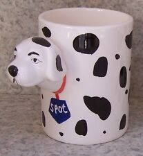 Coffee Mug Novelty Dalmatian Dog small NEW 11 ounce cup with gift box