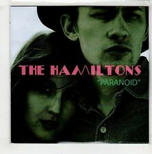 (HA316) The Hamiltons, Paranoid - 2015 DJ CD