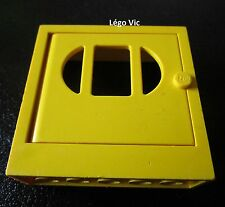 Lego Fabuland x610c03 Fabuland Door Frame 2x6x5 with Yellow Door
