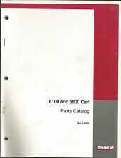 CASE IH 6100 AND 6800 CART PARTS CATALOG