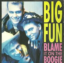 """7A2 140623 used vinyl 7"""" BIG FUN BLAME IT TO THE BOOGIE - INSTRUMENTAL"""