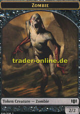 2x Token Zombie (Spielstein Zombie) Commander 2014 Magic