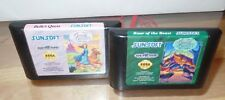 Disney's Beauty & the Beast Belle's Quest & Roar of the Beast (Sega Genesis) set
