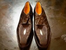 Vintage Black Genuine Patent Leather Shoes UK 10.5