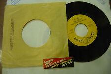 """MENO UNO""""PICCOLA MIA-disco 45 giri CORMORANO 1970""""PROG.IT Ed.JB con STICK"""