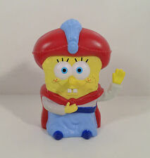 """2005 Sultan Spongebob 4.5"""" Burger King Meal Toy #17 Lost In Time Action Figure"""