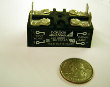GORDOS GB 13000-1 Solid State Relay - 240 VAC - 0.5 A Output / 10 VDC Input NEW