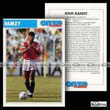RAMZY HANI (NADI AL AHLI LE CAIRE, NEUCHÂTEL XAMAX) - Fiche Football 1990