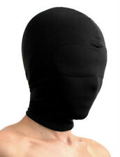 Premium SPANDEX PADDED EYE HOOD balaclava full face head mask black out stretchy