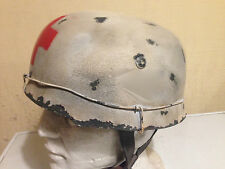 German Replica Paratrooper Medic Helmet