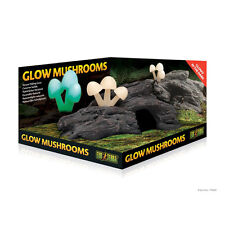 Exo Terra Glow Mushrooms for lizards, geckos, snakes, frogs, reptiles, vivarium