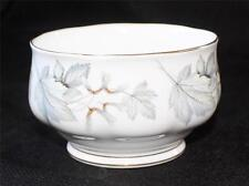 "Vintage ROYAL ALBERT Bone China England SILVER MAPLE  2 1/2""h Open Sugar Bowl"