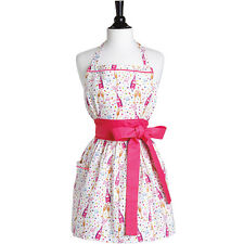 Bubbly Celebration Tie Front Viola Kitchen Apron Jessie Steele