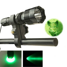 US Stock Full Set Tactical LED Flashlight Green light Lantern Torch For Hunting